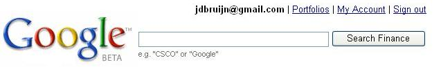 Google Portfolio